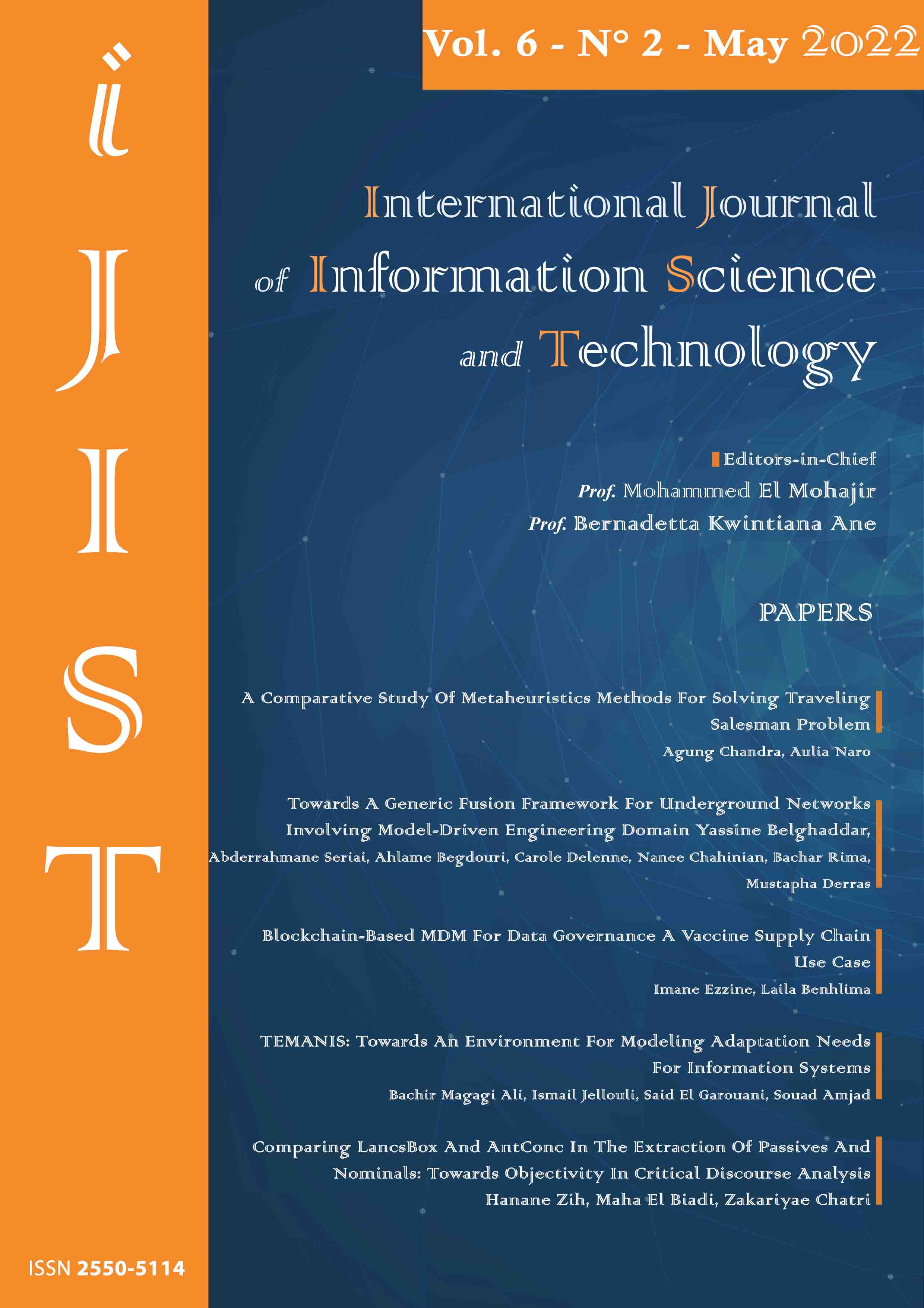 International Journal of Information Science and Technology